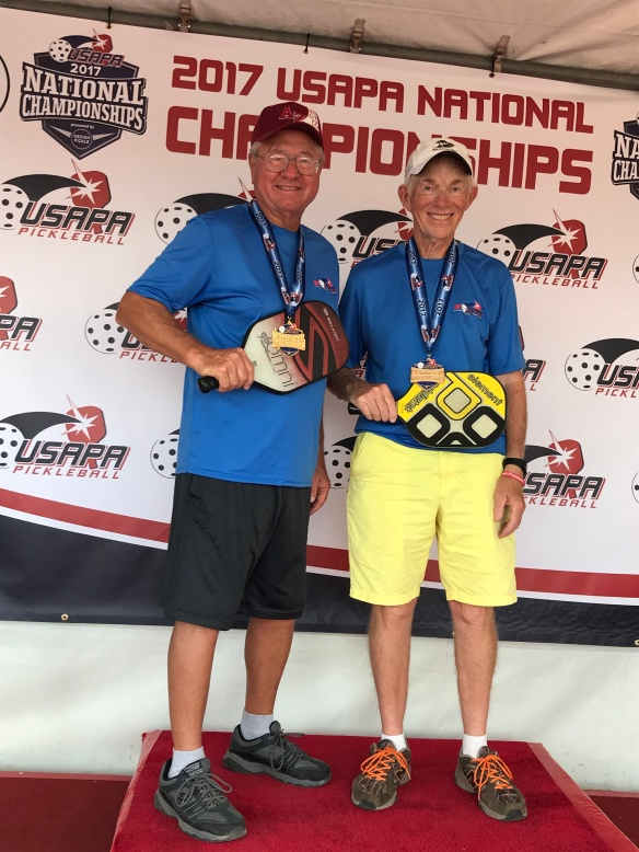 Larry and Paul Nationals Gold